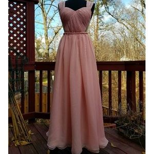 Dresses - Grecian style prom / bridal / formal gown
